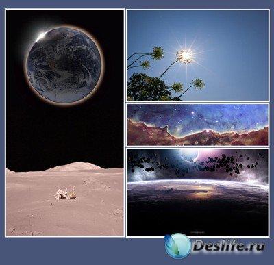 Уникальные явления  (подборка №1 - Затмения)