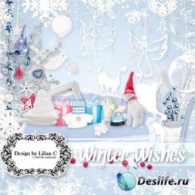 Скоап-набор - Хочется Зимы (Winter Wishes)