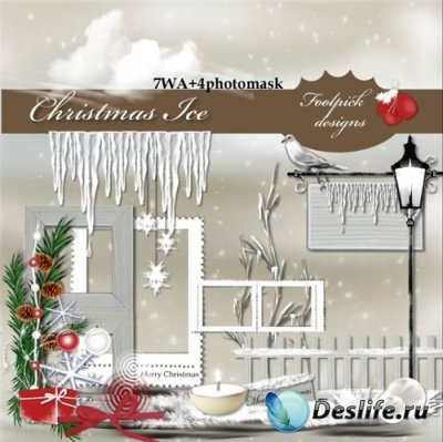 Скрап-набор - Christmas Ice