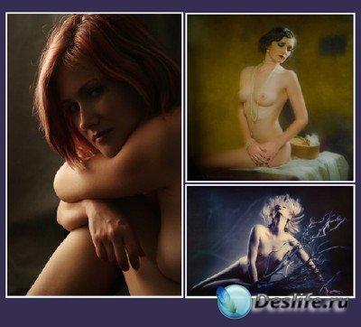 Женская красота через объектив фотохудожников (Mark Meir Paluksht)