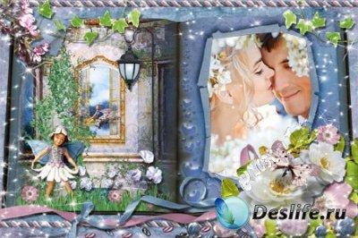 Рамка для фотошопа - Книга сказок-2
