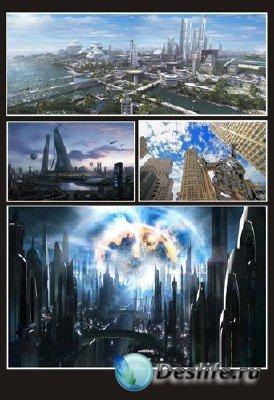 Все из мира Фэнтези (подборка №1 - Города будущего)