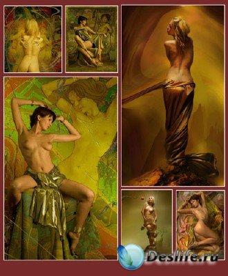 Женские образы от Владимира Федотко