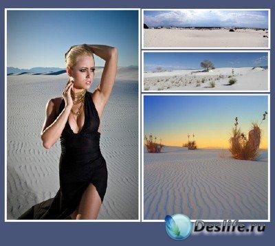 Уникальные явления  (подборка №2 - Белые пески в Нью-Мексико)