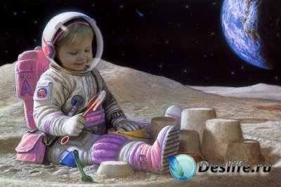 Костюм для фотошопа – Лунный малыш