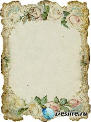 Старинные винтажные фоны для фотошопа