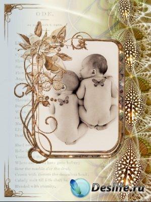 Рамка для фотошопа - Beautiful frame