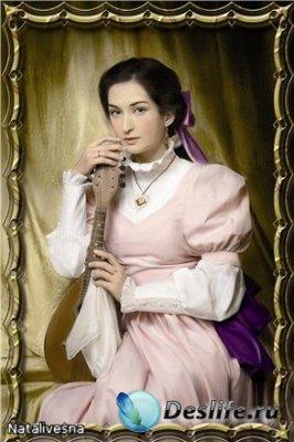 Женский костюм для фотошопа – Портрет Аристократки