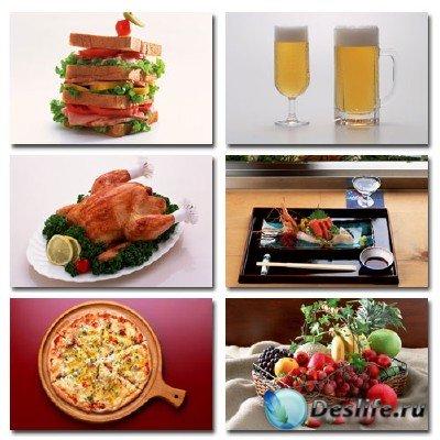 Набор профессионального клипарта - Food In The Mood