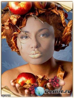 Осенний костюм для фотошопа – Красавица осень