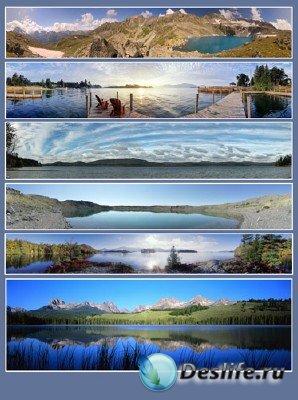 Панорамы (подборка №6 - Озера)