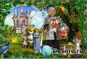 Костюм для фотошопа - Рыцарь в сказке