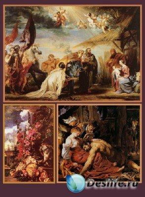В мире искусства - Фламандская и голландская живопись XVII века