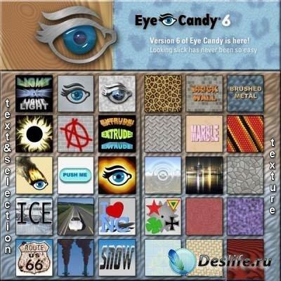 Alien Skin Eye Candy 6 - Набор фильтров для фотошопа