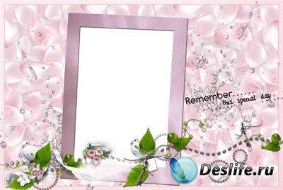 Рамка для фотошопа - Очарование