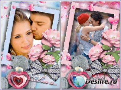 Рамка для фотошопа - Love is
