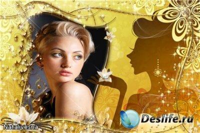 Рамка для Photoshop –  Мисс Элегантность