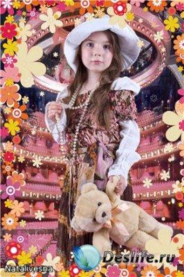 Костюм детский для фотошопа – Модница