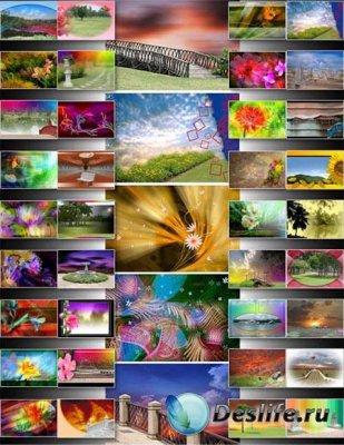 Романтические фоны для фотошопа - Romantic Abstract Backgrounds