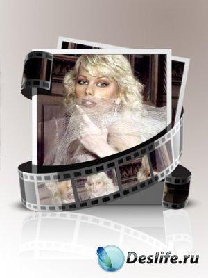 Рамка для фотошопа - Женщина в кадре