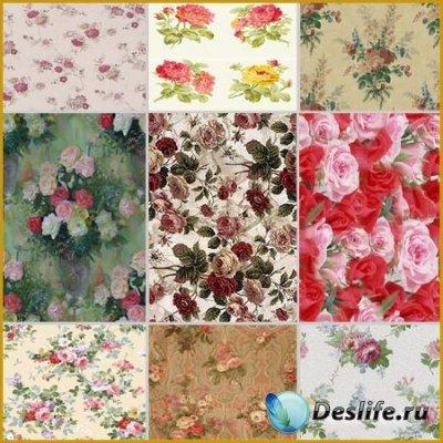 Красивые фоны для фотошопа - Цветы
