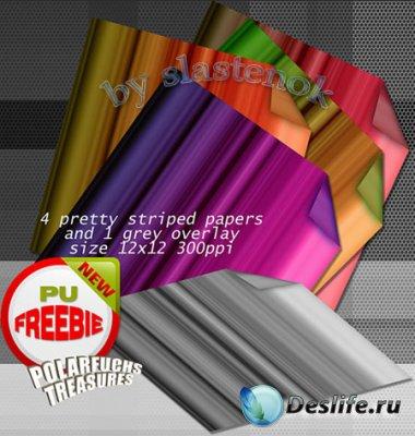 Текстуры - Полосатая бумага / Striped paper