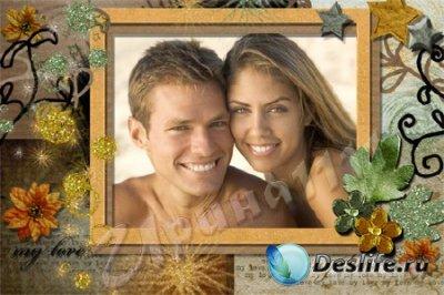Рамка для фотошопа - My love
