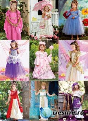 Костюмы для фотошопа - Девочки-принцессы