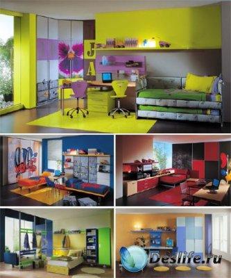 Дизайн детской комнаты 3 - Фото