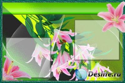 PSD исходник – Лилии