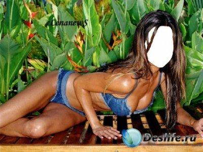 Костюм для фотошопа - Girl on the beach