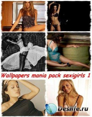 Wallpapers mania pack sexigirls - Обои для рабочего стола
