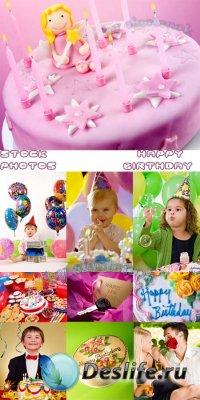Stock Photos - Happy Birthday / День рождения