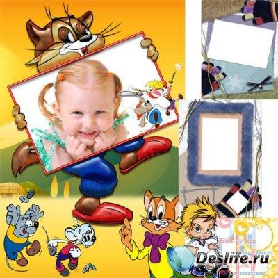 Детские рамочки для фотографий - Мега коллекция