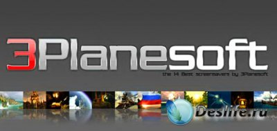 3Planesoft 3D Screensaver with Screensaver Manager 1.4.0.75 (RUS/2010)