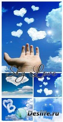 Сток фото - Любовь в небе