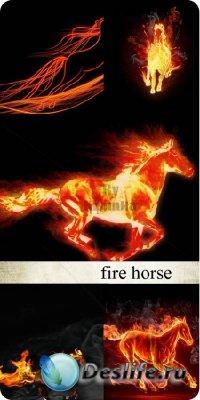 Stock Photo - Огненная лошадь (Fire Horse)
