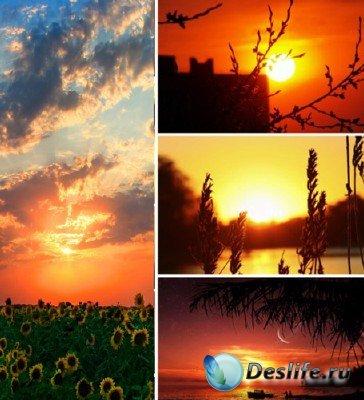 Красоты природы (подборка №12 - Завораживающие закаты)