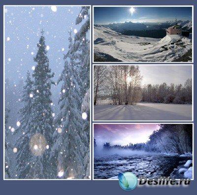 Красоты природы (подборка №13 - Сказка наступающей зимы)