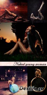 Клипарт - Обнаженная молодая женщина (Naked Young Woman)