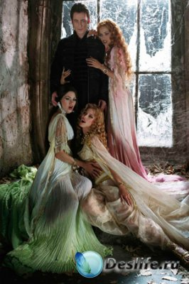 Костюм для фотошопа - Вампиры
