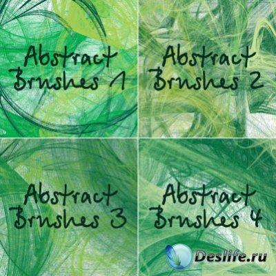 Кисти для фотошопа - Abstract brushes set