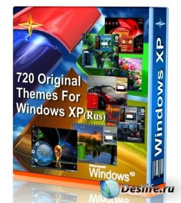 720 Original Themes For Windows XP