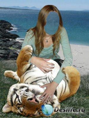 Костюм для фотошопа - Игры с тигром