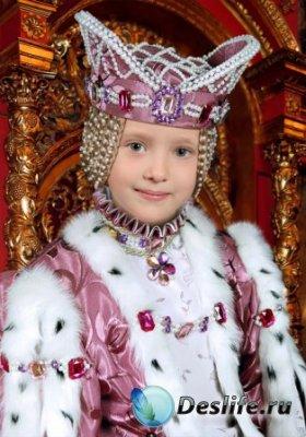 Костюм для фотошопа – Маленькая принцесса