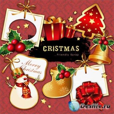 Скрап-набор большого разрешения - Christmas / Рождество
