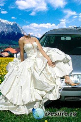 Костюм для фотошопа - Невеста