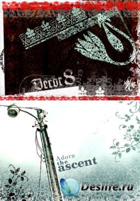 Декоративные кисти для Adobe Photoshop