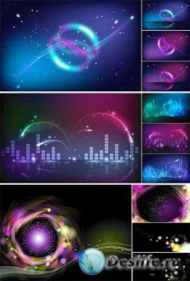 Неон в векторе (Neon Vector Design)
