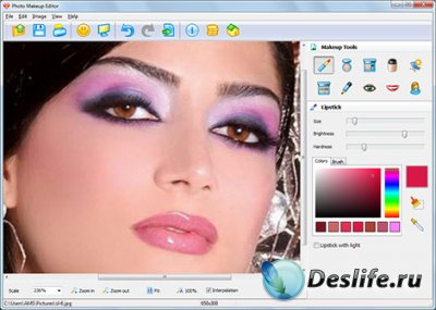 AMS Photo Makeup Editor 1.45 (Portable)